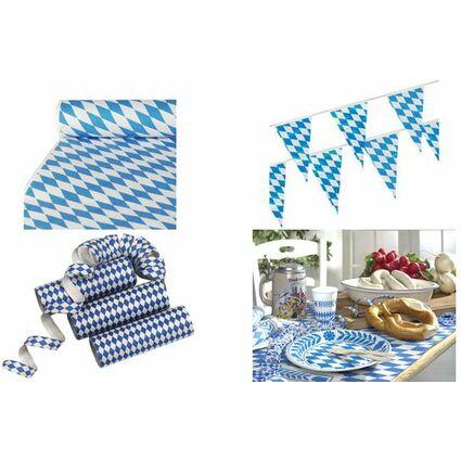 """PAPSTAR Luftschlangen """"Bayrisch Blau"""", blau/weiß"""