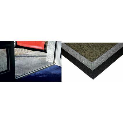 miltex Schmutzfangmatte Looper, 1.220 x 2.440 mm, schwarz