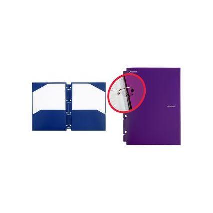 Rexel Ordnungsmappe Advance, DIN A4, 2 Fächer, blau