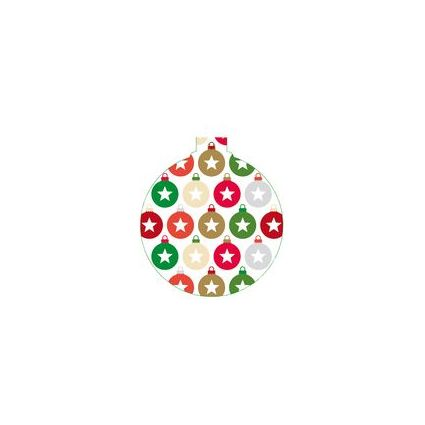 "SUSY CARD Anhängerkarten Weihnachten ""Minikugeln"""