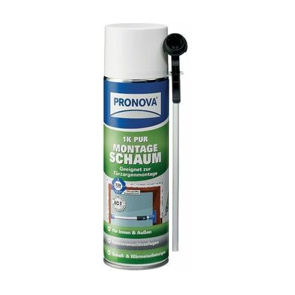 PRONOVA 1K PUR Montageschaum, monomerarm, 400 ml