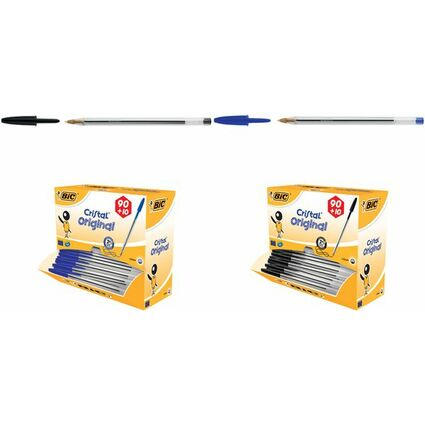BIC Kugelschreiber Cristal Original, blau, VALUE PACK