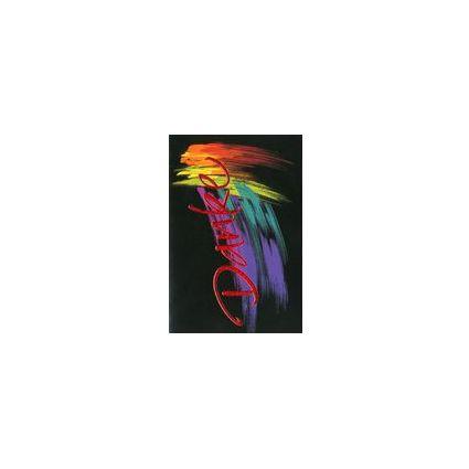 HORN Danksagungskarte - Bunte Pinselstriche -