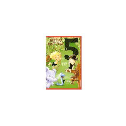 HORN Kinder-Geburtstagskarte - Tarzan & Jane - 5.Geburtstag