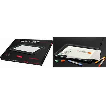 """transotype LED-Leuchttisch """"DRAWING LIGHT TABLE"""", DIN A3"""