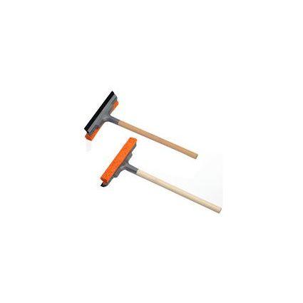 IWH KFZ-Scheibenreiniger, mit Holzstiel, Länge: 400 mm