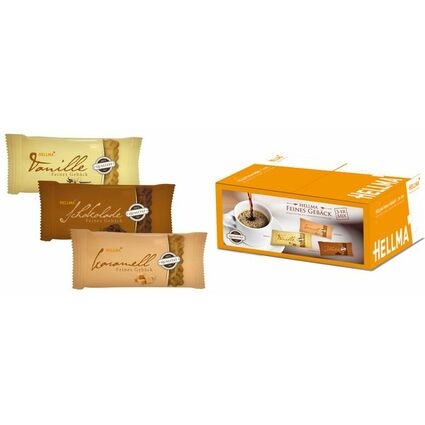 HELLMA Feines Gebäck 3er Mix, einzeln verpackt, im Karton