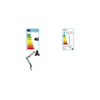unilux Energiespar-Tischleuchte SUCCESS 66, Farbe: weiß