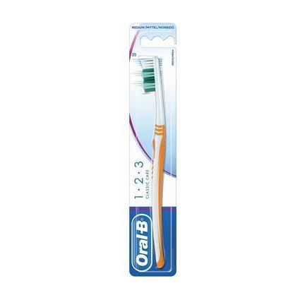 Oral-B Zahnbürste 1 2 3 CLASSIC CARE, mittel
