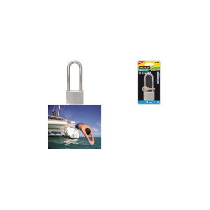 STANLEY Marine-Vorhängeschloss, Breite: 30 mm, langer Bügel