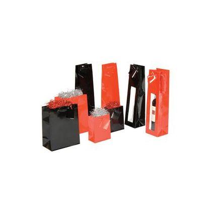 smartboxpro Geschenktüte, (B)180 x (T)100 x (H)227 mm, rot