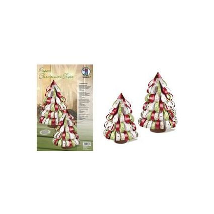 "URSUS Designstreifen Paper Christmas Trees ""Traditional"""