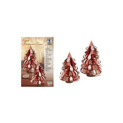 """URSUS Designstreifen Paper Christmas Trees """"Landhaus"""""""