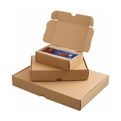 smartboxpro Maxibriefkarton, (B)350 x (T)250 x (H)50 mm