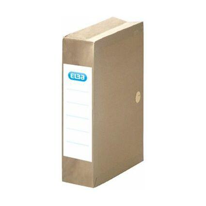 FAST Archivmappe, dehnbar, mit Einschlagklappen, beige