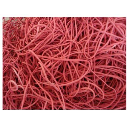 dm-folien Gummiringe im Beutel, rot, 100 mm, Großpackung
