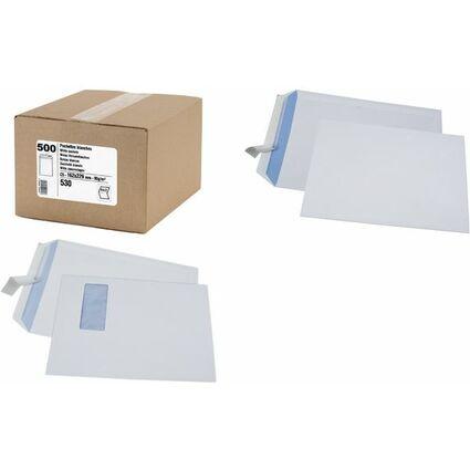 GPV Versandtaschen, C5, 162 x 229 mm, weiß, 90 g/qm