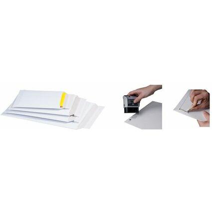 smartboxpro Versandtasche, aus weißer Vollpappe, DIN A4+