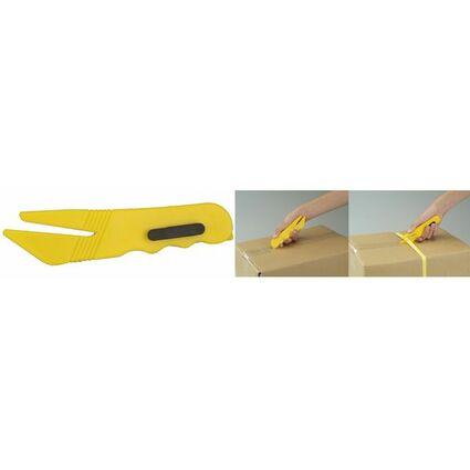"""dm-folien Folienschneider """"yellow-blade"""", gelb"""