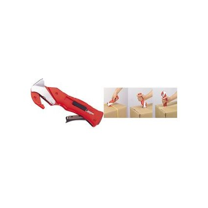 dm-folien Kartonöffner, roter Kunststoffgriff