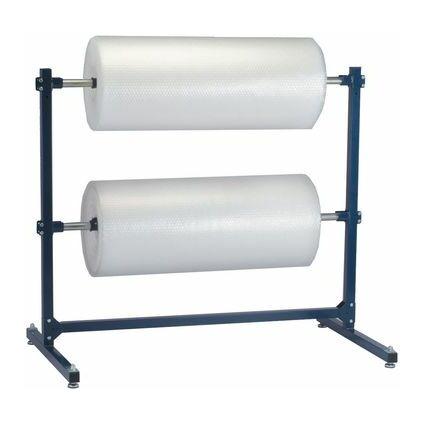 dm-folien Luftpolster-Folienabroller, Standgerät, blau