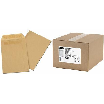 GPV Versandtaschen, C4, 229 x 324 mm, braun, Gewicht: 90 g