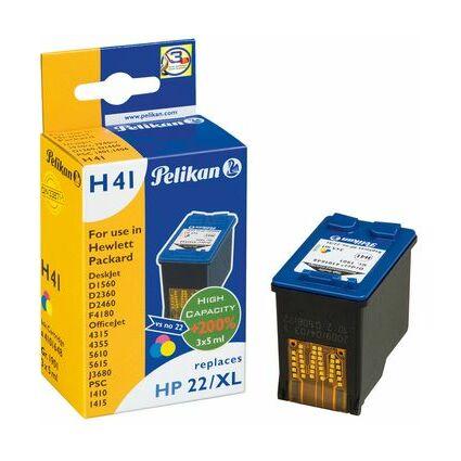 Pelikan wiederbefüllte Tinte 4108982 ersetzt HP301XL, farbig