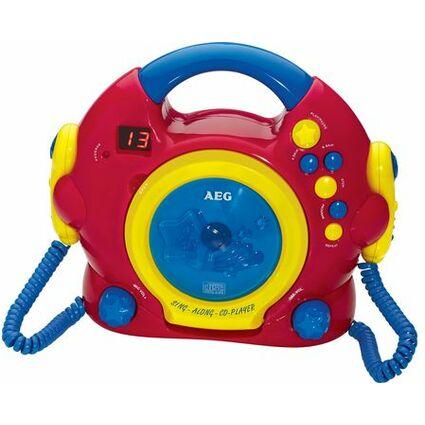 "AEG Tragbarer CD-Player CDK 4229 ""Sing Along"" - für Kinder"