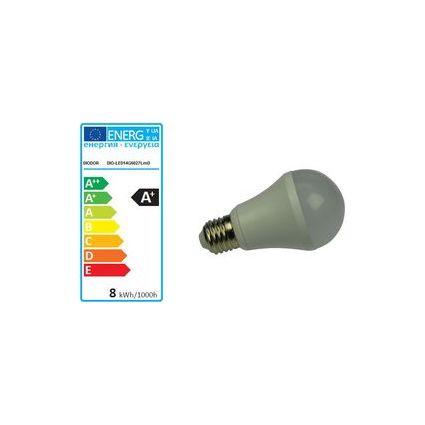 DIODOR LED-Lampe 14er Globe, 8 Watt, Sockel: E27