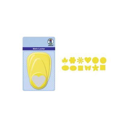 """URSUS Motiv-Locher """"Gänseblümchen"""", groß, Farbe: gelb"""