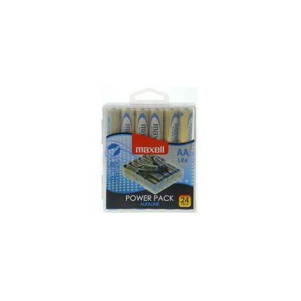 """maxell Alkaline Batterie """"Power Pack"""", Mignon AA, 24er Box"""