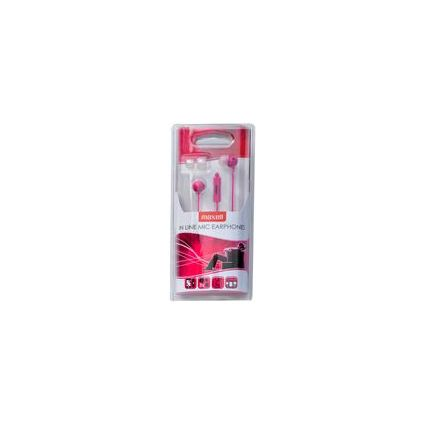 "maxell In-Ear Headset ""EC-MIC"", pink"
