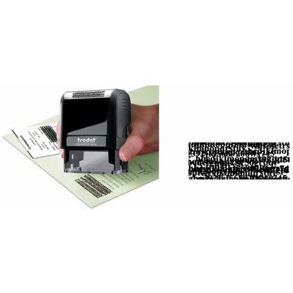 trodat Datenschutzstempel Printy 4912, eco-schwarz
