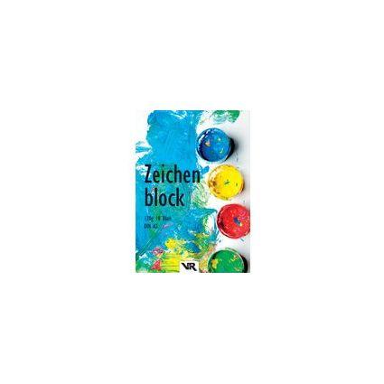VIKTOR RICHTER Zeichenblock DIN A3, 120 g/qm, 10 Blatt