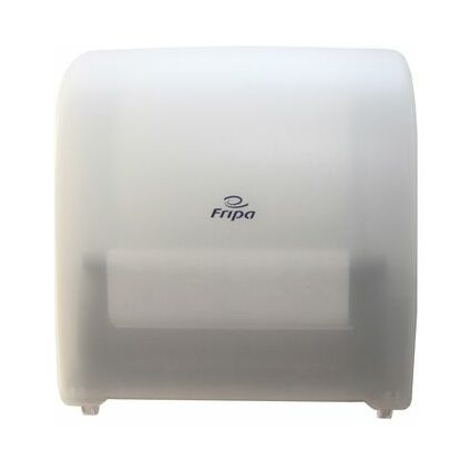 Fripa System-Handtuchrollen-Spender, weiß-transparent