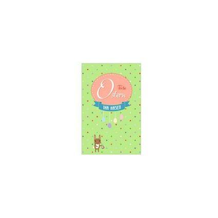 """SUSY CARD Oster-Grußkarte """"Tulpen in Filztasche"""""""