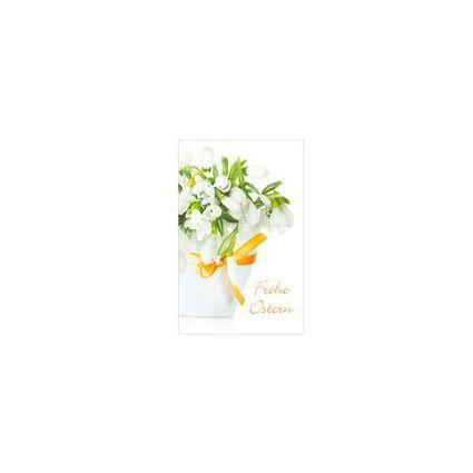 """SUSY CARD Oster-Grußkarte """"Schneeglöckchen"""""""