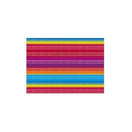 """SUSY CARD Geschenkpapier """"Kontraststreifen blau"""", auf Rolle"""