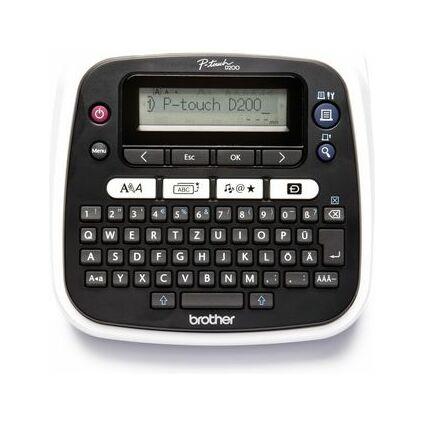 """brother Tisch-Beschriftungsgerät """"P-touch D200BW"""""""