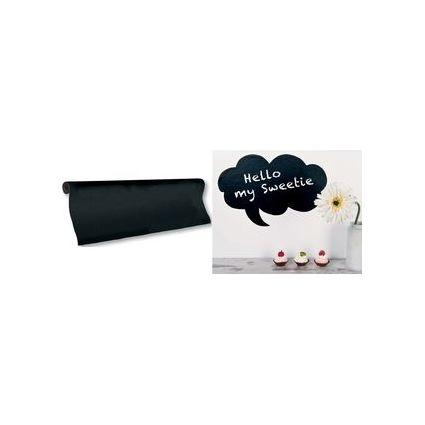 HEYDA Kreidetafel-Folie, schwarz, selbstklebend, Rolle