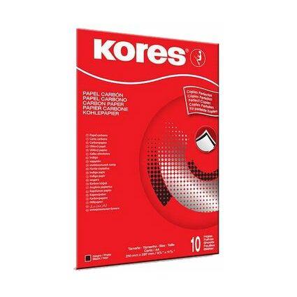 Kores Kohlepapier, DIN A4, schwarz, 100 Blatt