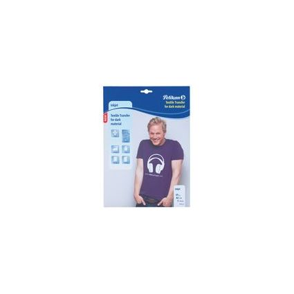 Pelikan Inkjet T-Shirt Transfer-Folie, DIN A4, 140 g/qm
