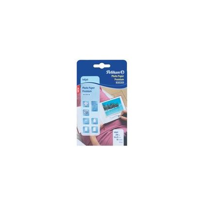 Pelikan Inkjet-Foto-Papier Premium, 10 x 15 cm, 290 g/qm