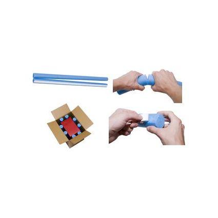 smartboxpro Füllpolster, haftklebend, rund, blau