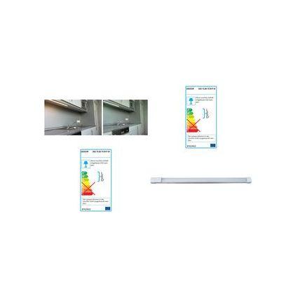 DIODOR LED-Lichtleiste, 600 mm, kaltweiß (6.000 K), 10 Watt