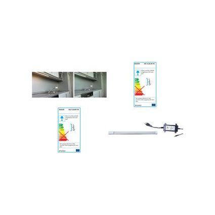 DIODOR LED-Lichtleiste, Starterpack, 600 mm, kaltweiß, 10 W