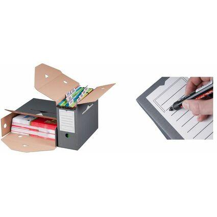 smartboxpro Hängemappen-Archiv, anthrazit, Kleinpackung