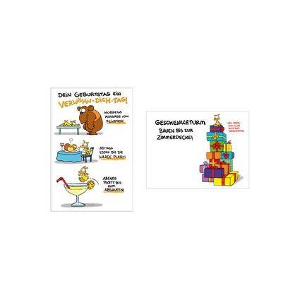 "SUSY CARD Geburtstagskarte - Humor ""Verwöhn-Dich-Tag"""