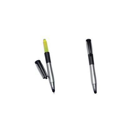 Alassio Drei-Funktions-Stift: Eingabestift & Kugelschreiber