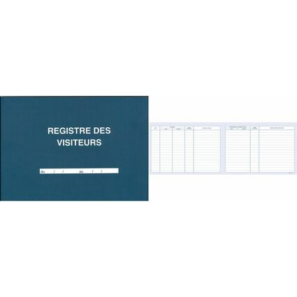 ELVE Registre des Visiteurs, 210 x 297 mm, 96 pages